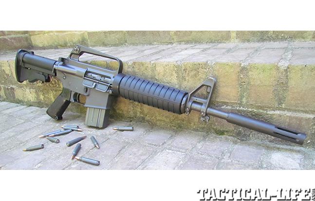 M16 Evolution Steps