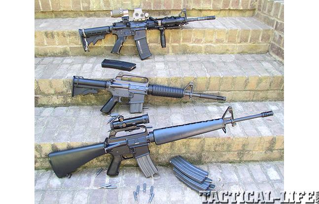 M16 Evolution Trio