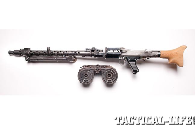 German MG34 left