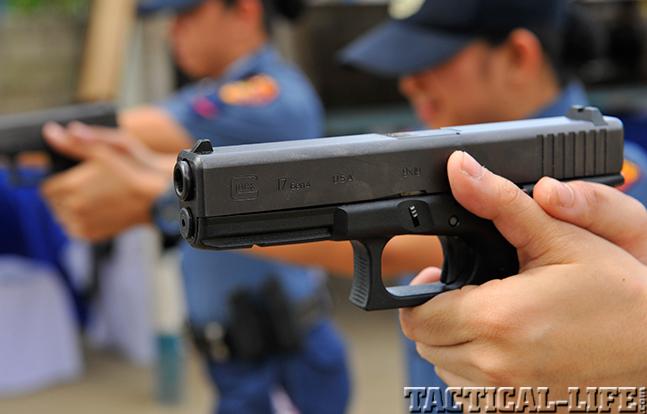Philippine National Police glock