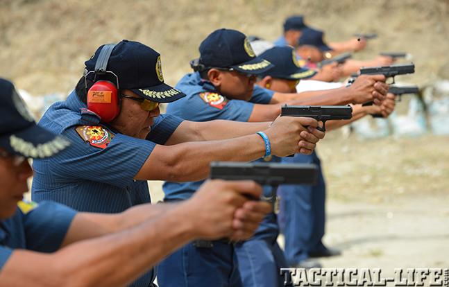 Philippine National Police range