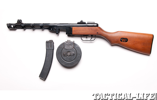 Russian PPSh41 left