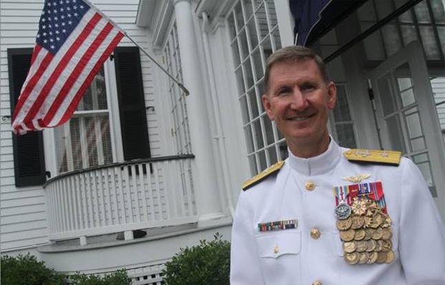 Rear Adm. Ted Carter Jr. naval academy