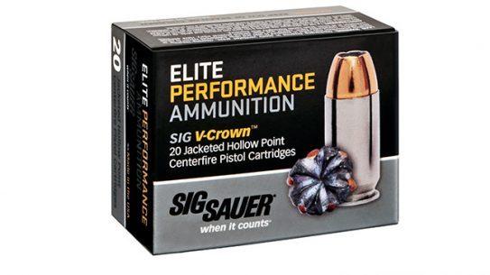 Sig Sauer Elite Performance ammunition