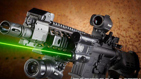 megapistol, Sig Sauer P516 laser