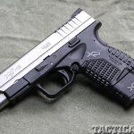 "Springfield Armory 4.0"" XD-S 9mm pistol left"