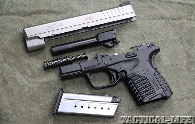 """Springfield Armory 4.0"""" XD-S 9mm pistol parts"""