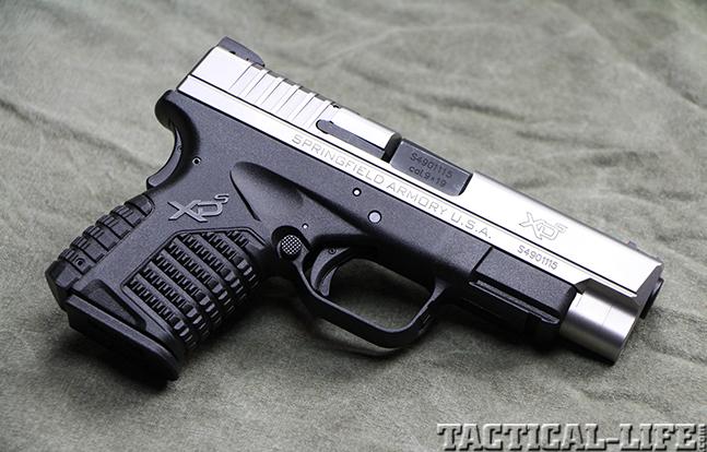"Springfield Armory 4.0"" XD-S 9mm pistol right"