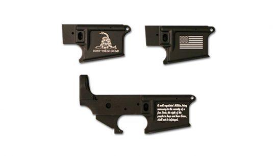 Stag Arms Laser Engraving American Gadsden Flag