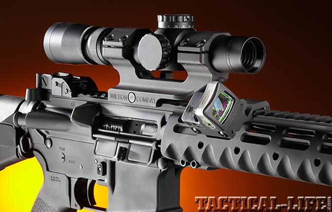 Stag Arms Model 3T-M rifle optics