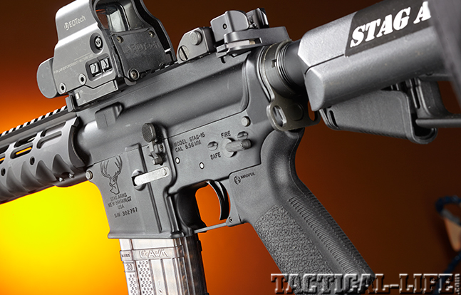 Stag Arms Model 3T-M rifle receiver left