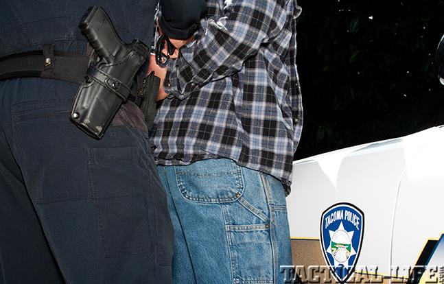 Tacoma Police Department arrest