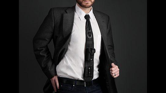 ThinkGeek Laser-Guided Tactical Necktie worn