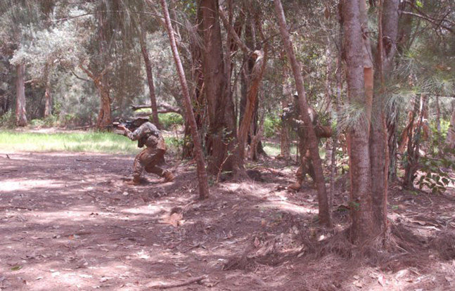 Tinita Taylor Jungle Operations Training Course Army