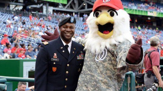 Washington Nationals Army Day