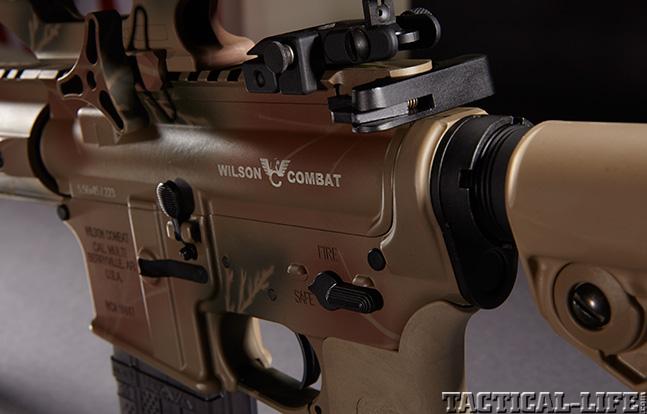 Wilson Combat Paul Howe Tactical Carbine receiver left