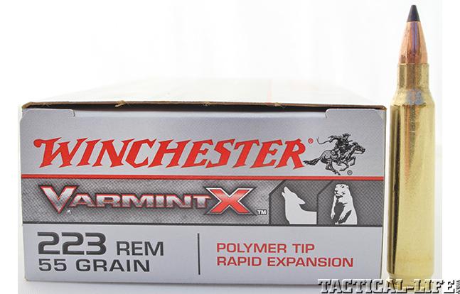 Winchester 55-grain .223 VarmintX