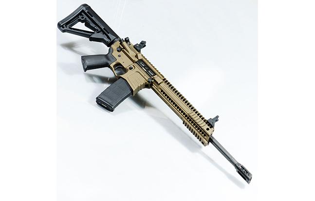 Yankee Hill Machine Billet Model 57 Carbine burnt bronze right