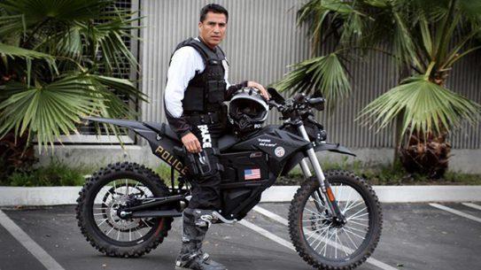 Zero Motorcycles LAPD