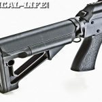 The Magpul collapsible polymer stock
