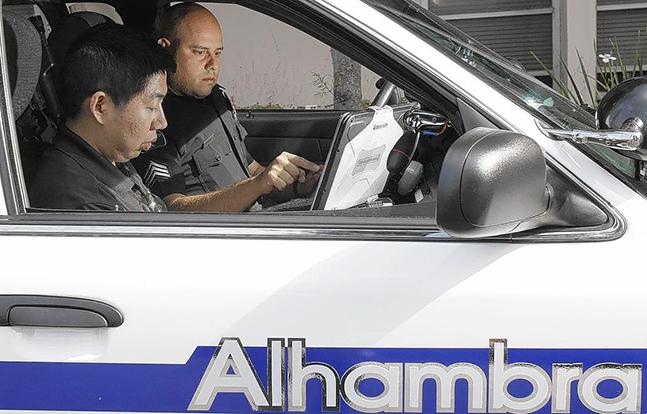 Alhambra Police Weibo