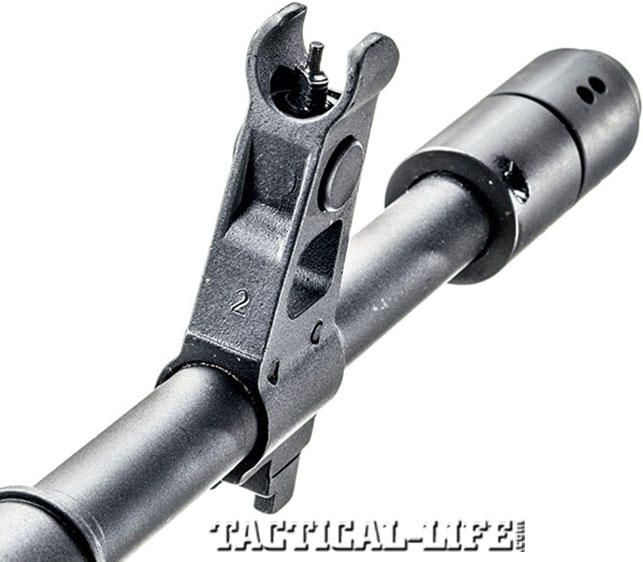 Post front sight