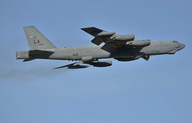 B-52 Stratofortress airborne