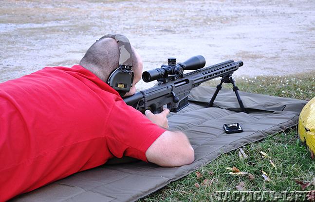 Barrett MRAD mag firing