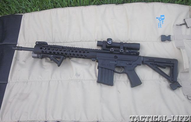 Bushmaster MOE .308 Enhanced ORC rifle solo