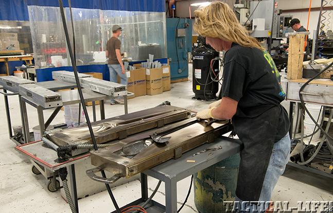 Christensen Arms molding