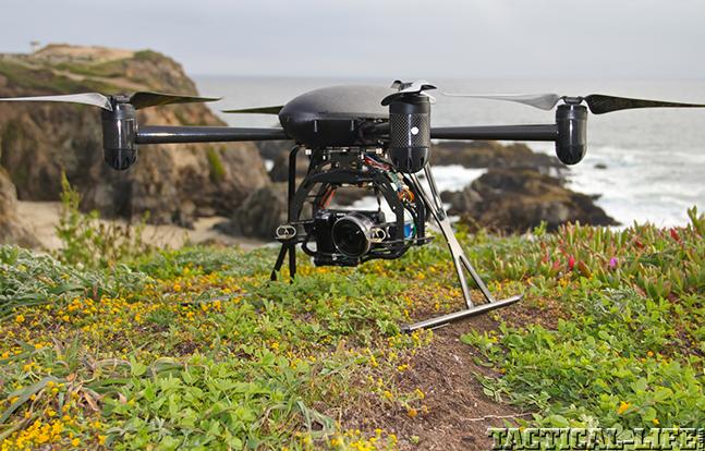 Draganflyer X4P black hill