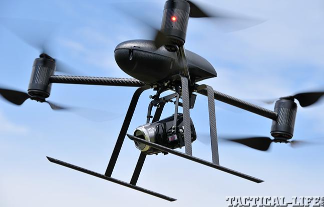 Draganflyer X6 camera