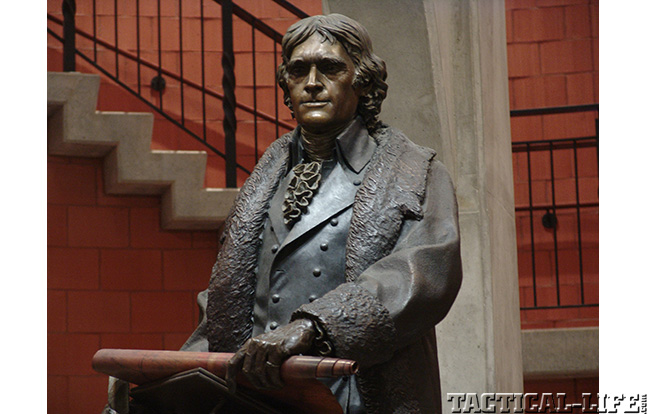 Fourth of July West Point Thomas Jefferson