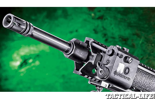 Gun Review Armalite M-15TBN muzzle