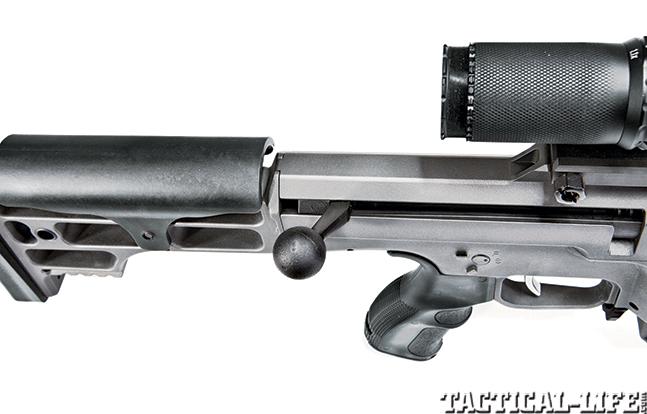 Gun Review Barrett 98B Tactical bolt