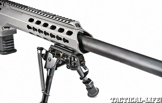 Gun Review Barrett 98B Tactical mount