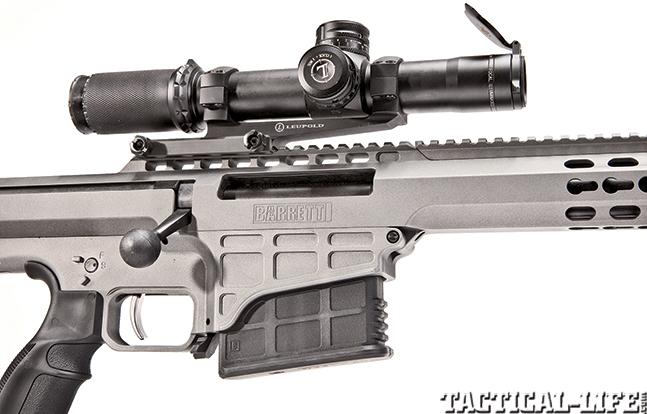 Gun Review Barrett 98B Tactical scope