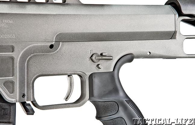 Gun Review Barrett 98B Tactical trigger