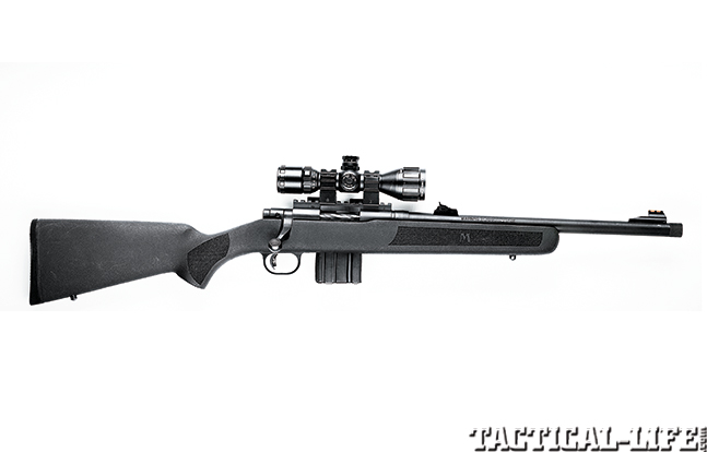 Gun Review Mossberg MVP Patrol solo