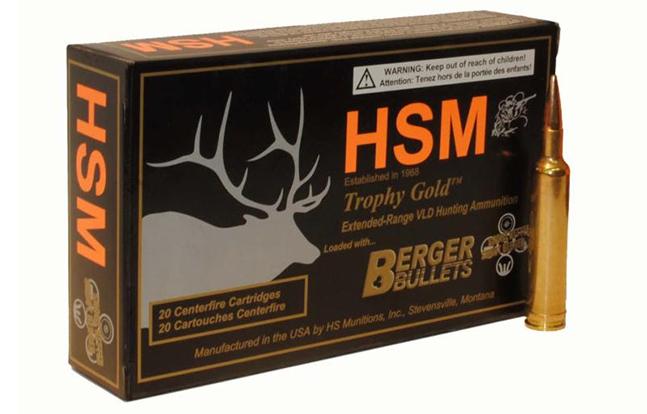 HSM's .257 Weatherby Magnum Round
