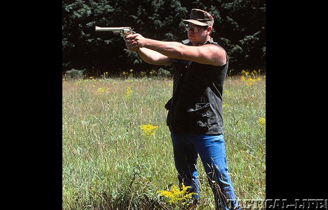 John Fasano aiming