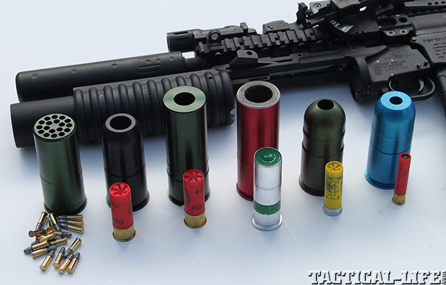 LMT M203 2003 Grenade Launcher ammo display
