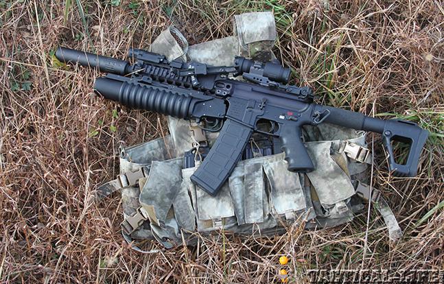 LMT M203 2003 Grenade Launcher lead