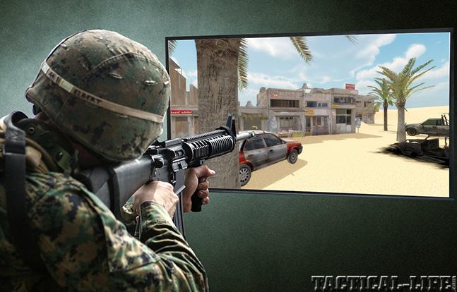 MILO Range military screen
