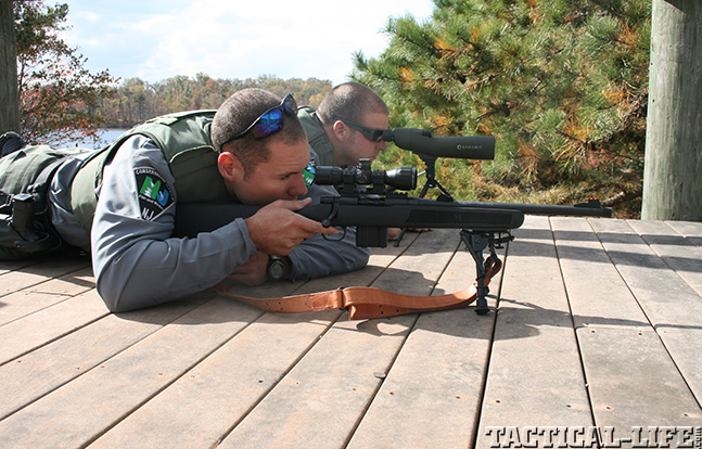 Mossberg MVP Patrol police sniper
