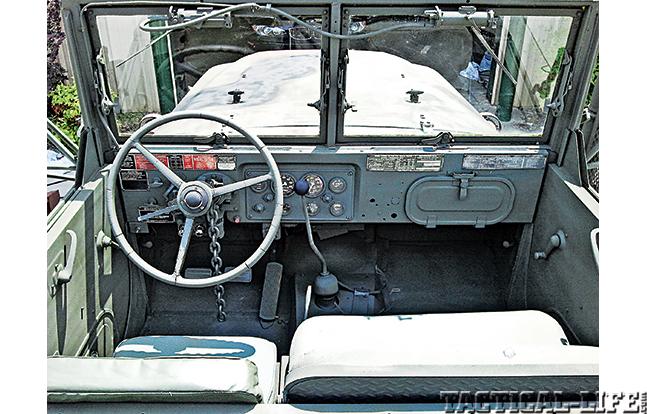 'Deuce and a Half': Multi-Mission M35 Trucks wheel