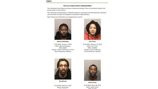 Oakland Police Department sex trafficking
