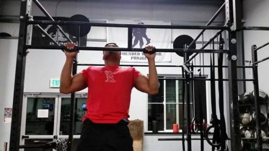 Pullup Record Wounded Warriors