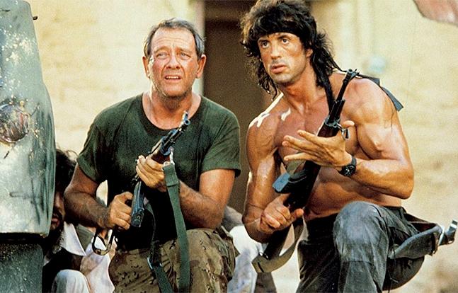 Rambo 3 Hollywood ak-47