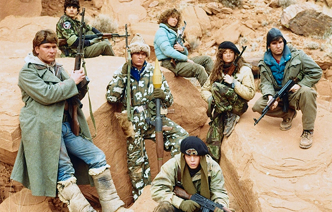 Red Dawn 1984 Hollywood AK-47